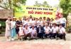 Tham quan dã ngoại tại khu du lịch sinh thái Hồ Phú Ninh.